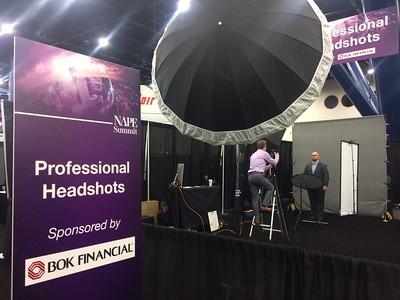 Headshot Photo Booth Pics
