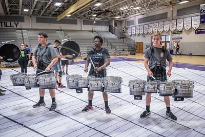 2017 04/18 Drumline Practice