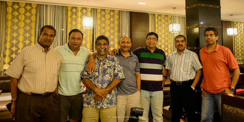 Sundar with VV gang June 2015 _DSC1298