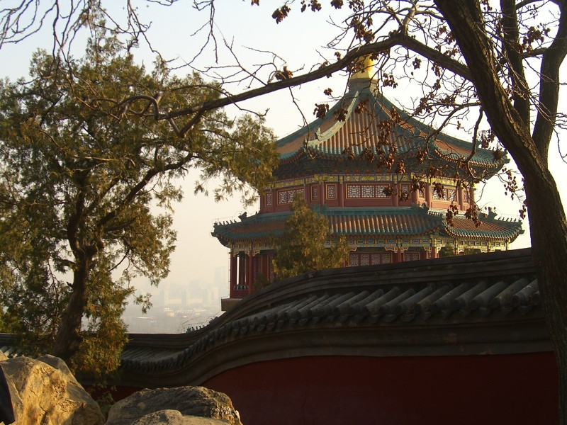 Tower at the Summer Palace, Summer Palace - Beijing, China