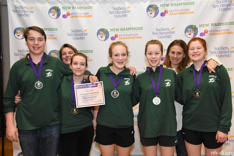 1st place.130-81095 ,Sunapee Middle High School, Yloponom s, Sunapee, NH, Fine Arts Challenge- Game On, Secondary Level
