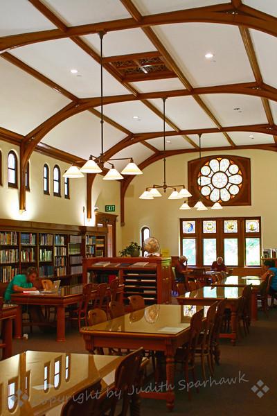 Libary Reading Room