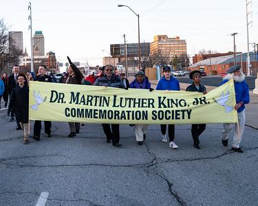 MLK Pre March