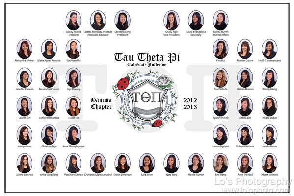 CSUF Tau Theta Pi - Gamma Chapter
