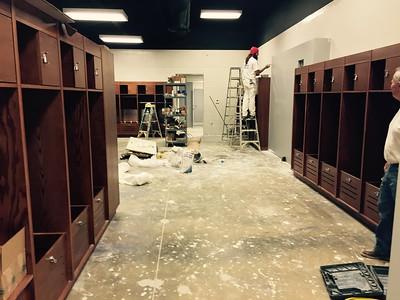 Men's Soccer Locker Room