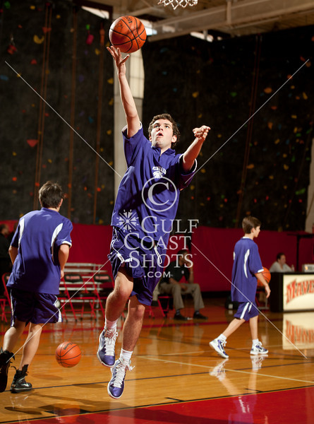 2011-01-22 Basketball JV2 Boys Kinkaid @ SJS