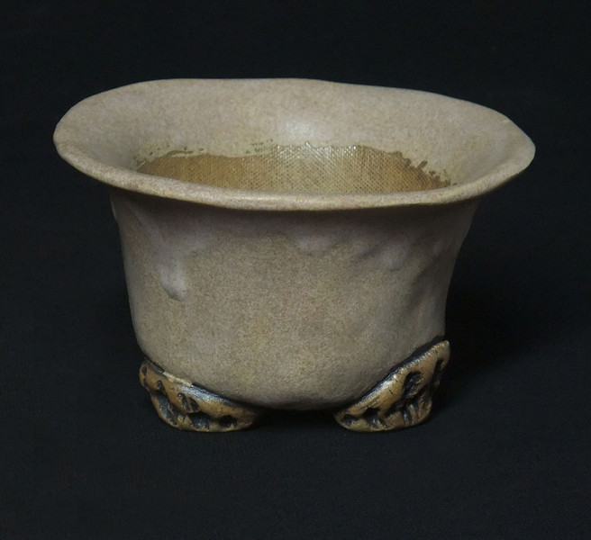 """#664 4"""" round, 2 1/2"""" deep, 3 1/2"""" tall ***SOLD***"""