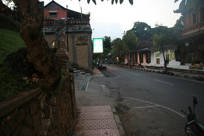 Evening Out in Ubud