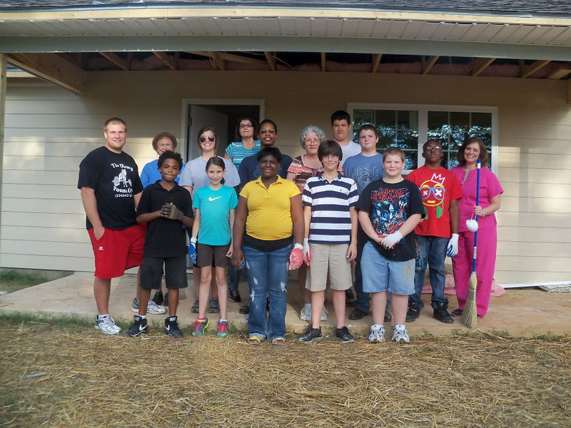 Lanett First United Methodist Church youth group