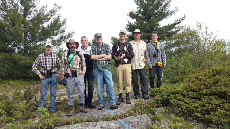 Group photo of WBFN members at Sheffield Conservation Area