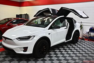 2016 Tesla Model X P90D - Multi Coat White
