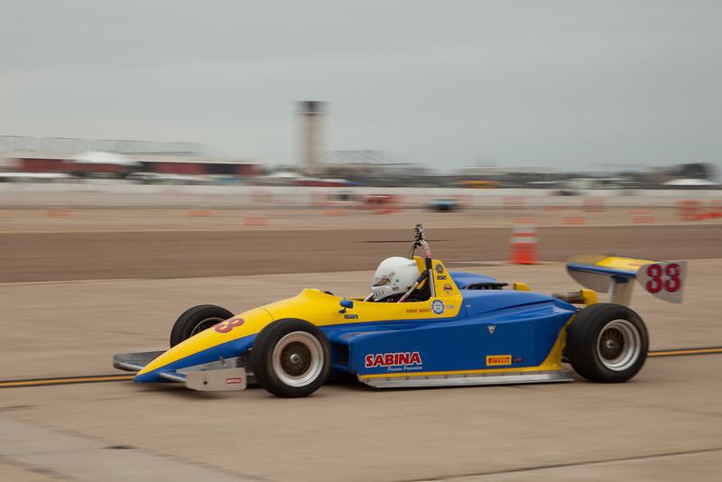 Robert Merritt's 1986 Ralt RT 5 during Friday practice.