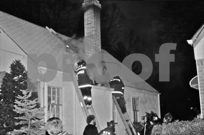 SHFD Chimney Fire
