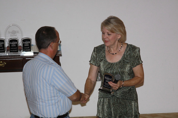 Record of Service Awards - 2009