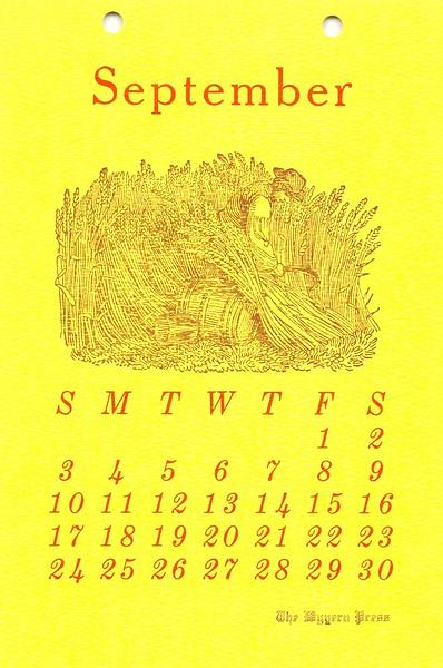 September, 1978, Wyvern Press