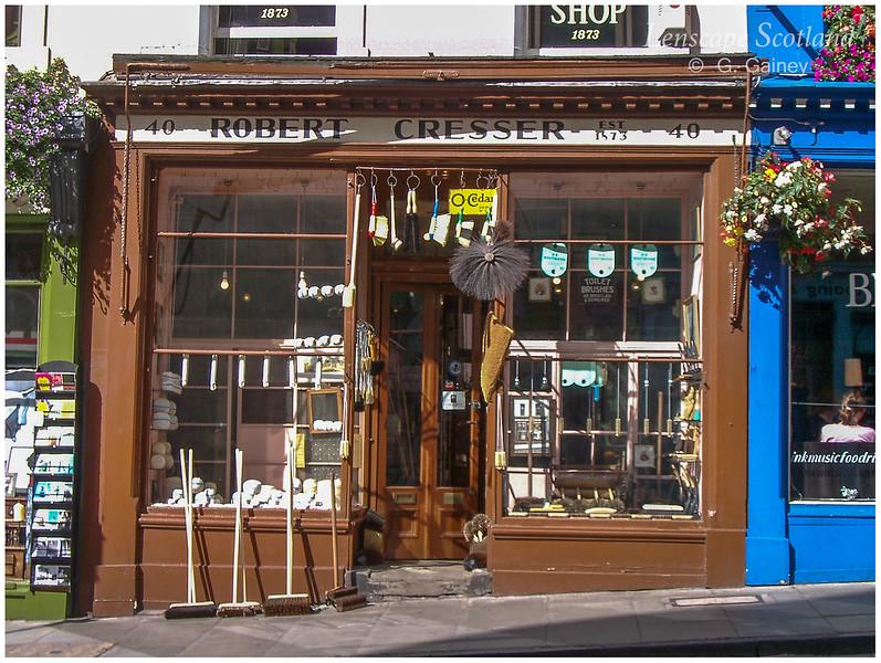 Cresser brush shop, Victoria Street (2002)