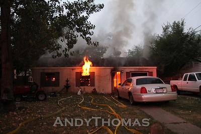 House Fire 1321 E. Denver (8/6/10)