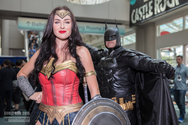 Comic-Con 2018 Cosplay Day 1 - Hall shots
