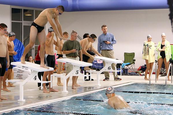 Varsity Swimming at Rockingham County HS