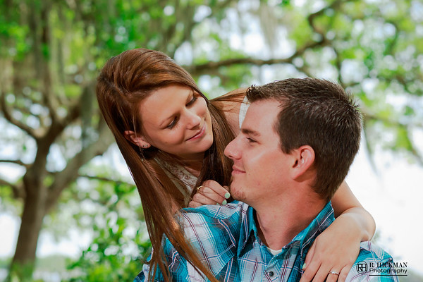 Cat Lake at Harmony, FL | Holly + Jordan Engagement Session