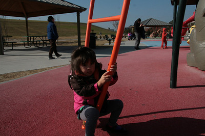 2012-11 Playing at Mt. Trashmore