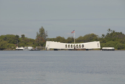 USS Arizona Memorial Pearl Harbor Honolulu, Island of Oahu,  Hawaii