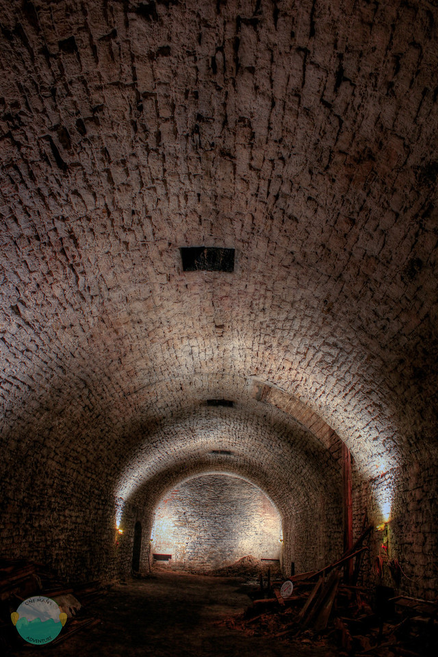 Gerke Tunnel<br /> The lagering room of Gerke Brewery.