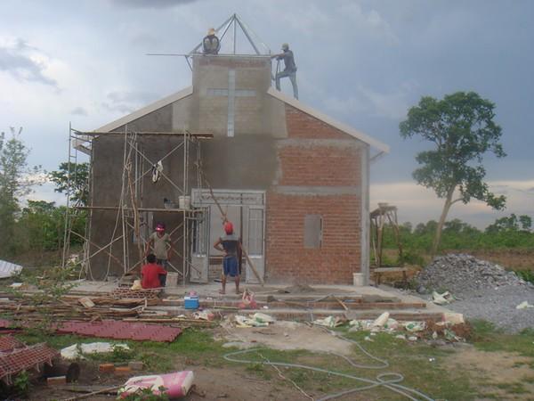 Cambodia Church Construction