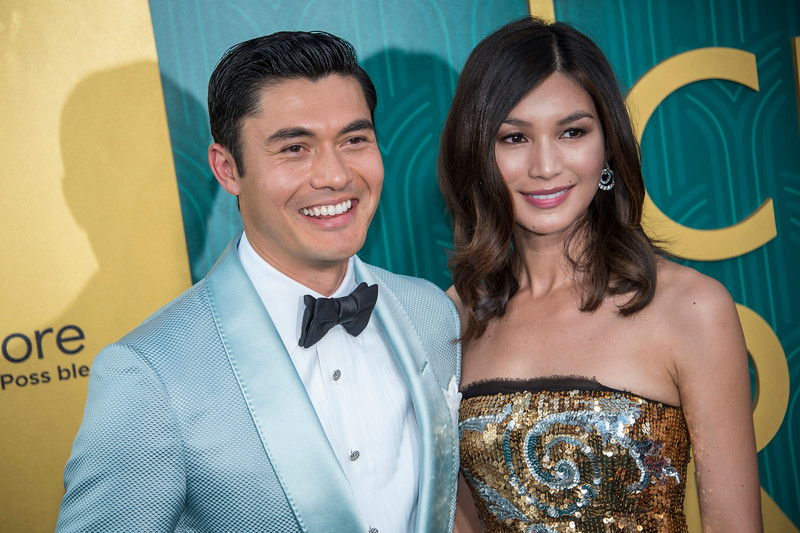 HOLLYWOOD, CA - AUGUST 07: Henry Golding and Gemma Chan arrive at Warner Bros. Pictures' 'Crazy Rich Asians' Premiere at TCL Chinese Theatre IMAX on Tuesday, August 7, 2018 in Hollywood, California. (Photo by Tom Sorensen/Moovieboy Pictures)