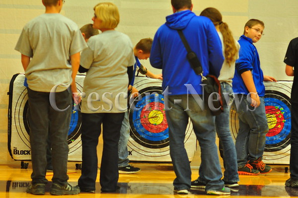 10-24-15 NEWS Archery Competition, Holgate H.S.