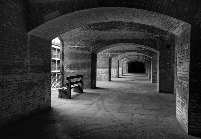 Fort Point, San Francisco, CA Canon 7D, 17-55mm