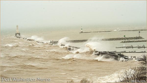 Stormy Day on Lake Michigan