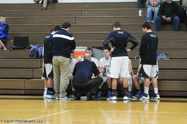 JV Boys Basketball and Cheerleaders