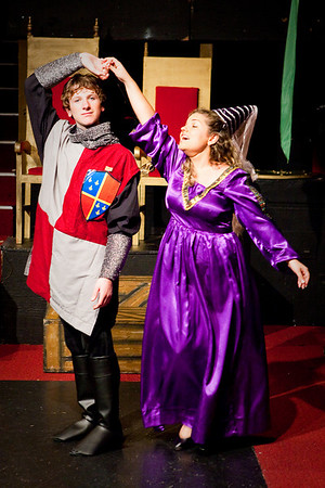 Once Upon A Mattress - Rehearsal Wed Nov 4, 2009