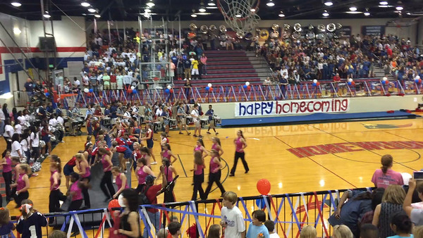 HHS Pep Rally 9.18.15