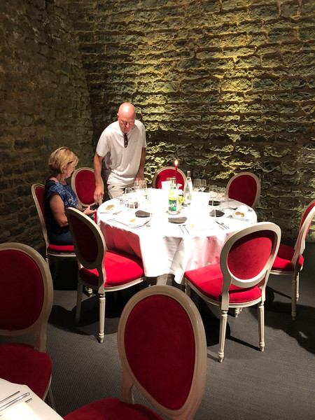 Dinner at Château Sainte Sabine