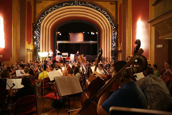 NMF Mahler 5 Rehearsal Garfield Center June 15 2012