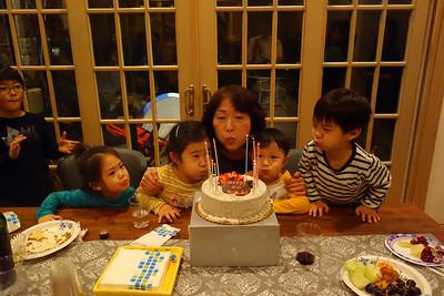 Kwon Family Thanksgiving 2012
