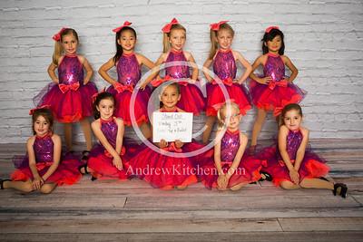 Mon 3:30 PM Kinder Tap & Ballet Sarah