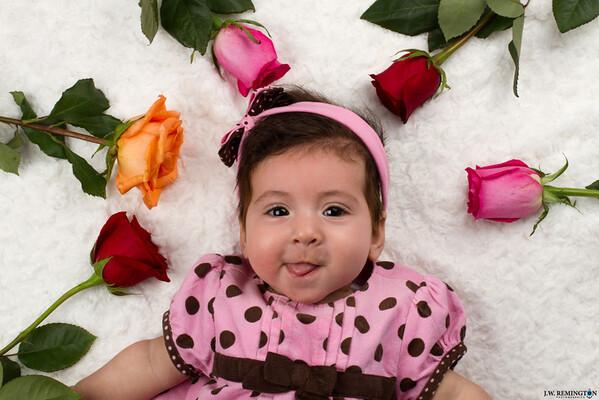 Aliyah's First Valentine's Day