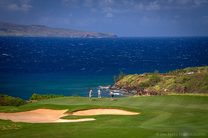 Kapalua Plantation golf course.