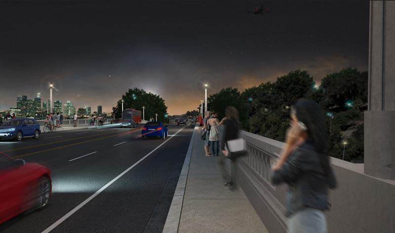 2011, Pedestrian Rendering