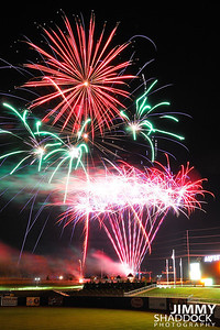 Naturals Game and Fireworks May 21