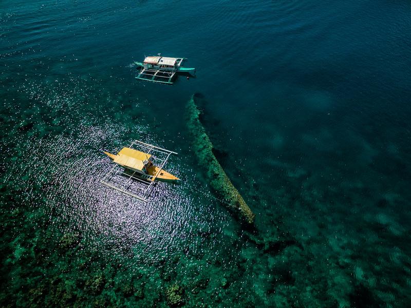 Shipwrecks around Culion Island, Philippines