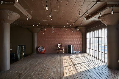 Wood stage with Wood Floors