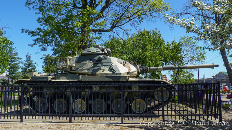 Victory Park - Norwood, OH - M60A3