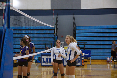 Ladue Girls Varsity Vollyball vs. Affton High School 9-20-2012