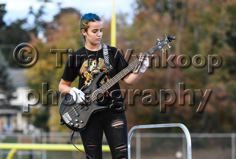 Pleasant Valley High School Marching Band, Brodheadsville, PA. James A. DeVivo, Band Director. Phillipsburg High School Marching Band hosts the Neil Boyer Band Festival, Oct 12, 2019.