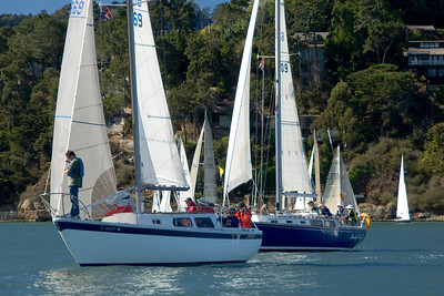 SFYC Around the Island Race -- 21 October 2007