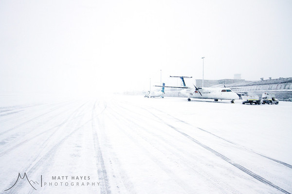 Christchurch Airport Snow '11